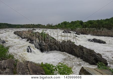 Potomac River, Great Falls State Park, Virginia