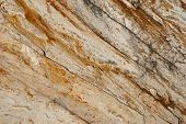 stock photo of shale  - A detailed background texture of shale rock - JPG