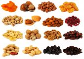 stock photo of groundnuts  - Nuts and dried fruits - JPG