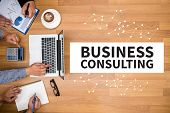 Business Consulting Concept poster