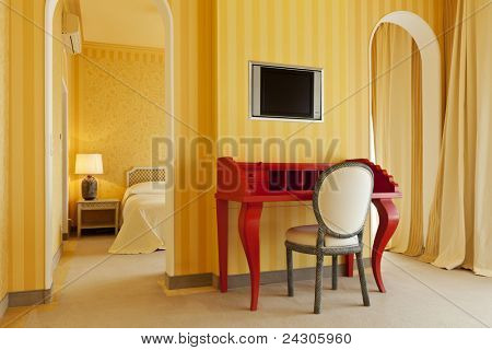 interior luxury apartment, comfortable room
