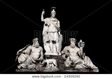 Fontana Della Dea Roma Tra Il Tevere E L'aniene