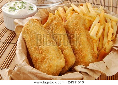Golden Fish And Fries