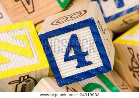Photo of many alphabet learning blocks