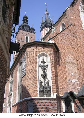 St Mary'S Church, Krakow, Poland.