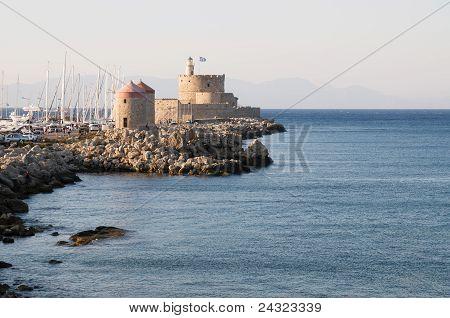 Old Rhodes port