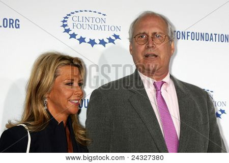 LOS ANGELES - OCT 14:  Chevy Chase arriving at the Clinton Foundation