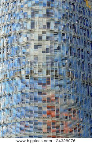 Facade Of Agbar Tower
