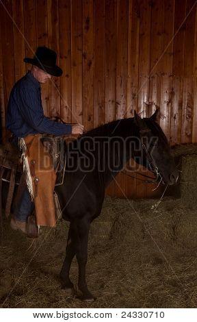 Cowboy Horse Ride