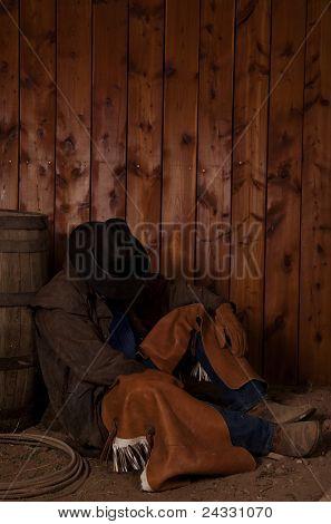 Cowboy Sleep Barrel