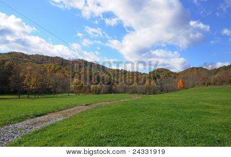 Autumn West Virginia Farmland