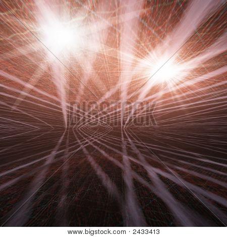 Grunge Flashy Background
