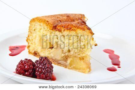 Fresh Baked Applecake