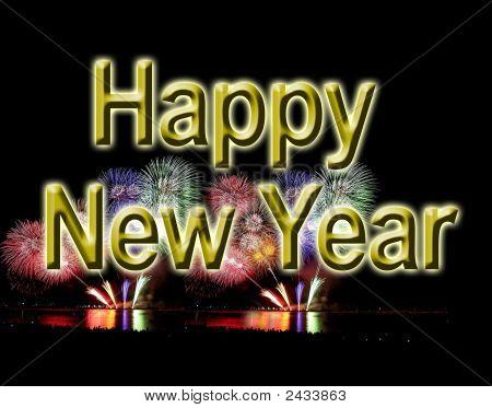 Happy New Year Fireworks