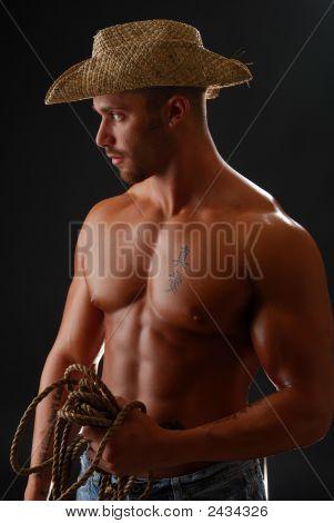 Shirtless Cowboy