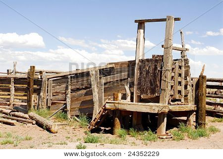 Old Cattle Loading Ramp