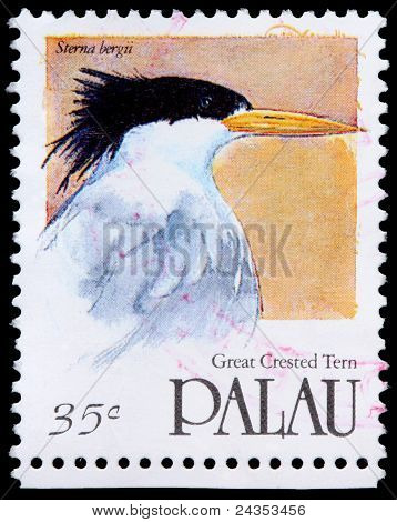 A 35-cent Stamp Printed In Palau