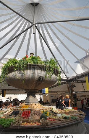 Fruit And Veg Display, Friuli Doc