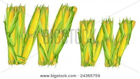 alphabet of corn