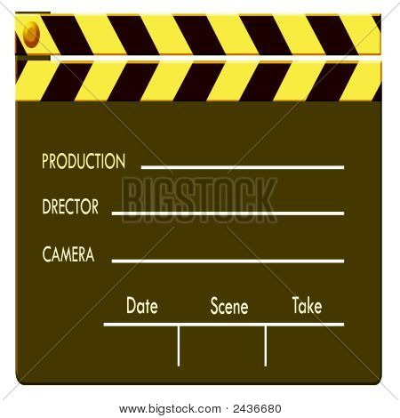 Color Film Clapboard