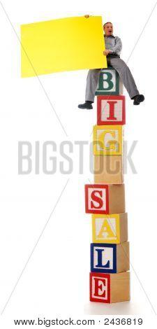 Tall Sale Ad