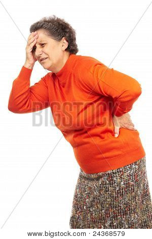Senior Woman With Backache
