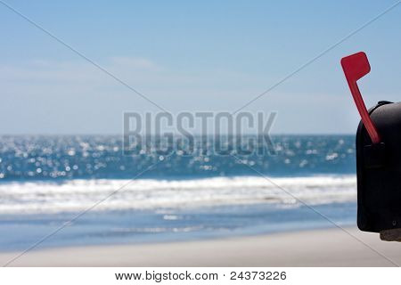 Beach Outgoing Mail