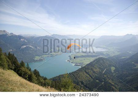 View over salzkammergut