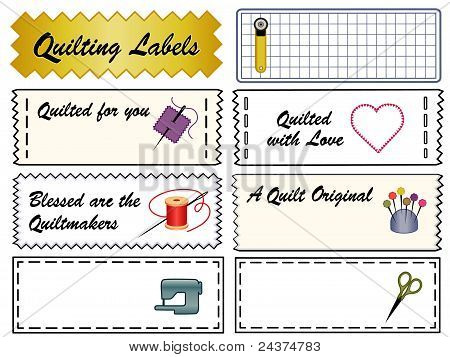 Quilting Labels