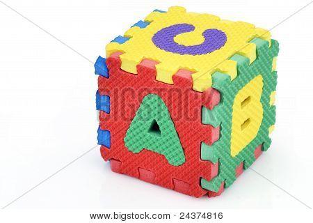 Fun Alphabet Cube
