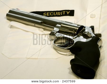 Magnum Revolver For Security