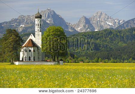 church in bavaria, germany