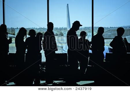 Travelers At Airport