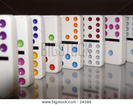 Standing Dominoes