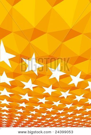 shining stars background. Design vector