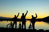 Bike Team Morning Spontane Ride And Adventure poster
