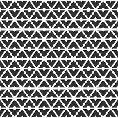 Abstract Geometric Seamless Pattern Of Triangular Geometric Shapes. Modern Stylish Texture. Repeatin poster