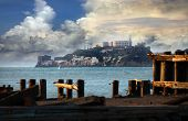 foto of alcatraz  - Alcatraz Federal Penitentiary in the San Fransisco Bay California - JPG