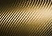 Metallic Shiny Texture Of Gold Carbon Fiber Self-adhesive Paper. Material For Racing Car Modificatio poster