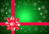 picture of christmas-present  - Christmas present Background for card and albums - JPG