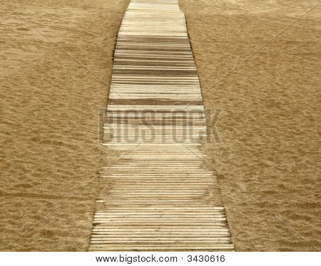 Path On The Sand