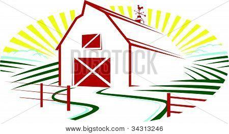 Sonnenschein Red Barn