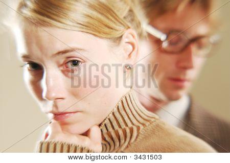 Sad Woman