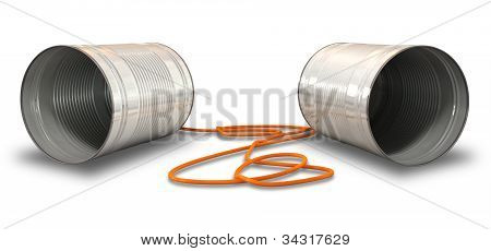 Tin Telephones