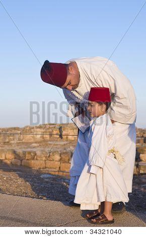 Samaritan Shavuot Pray