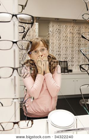 surprise at the optometrist