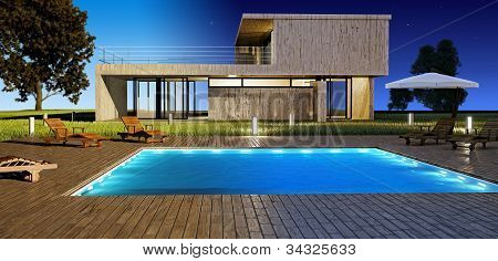 Day And Night Modern House