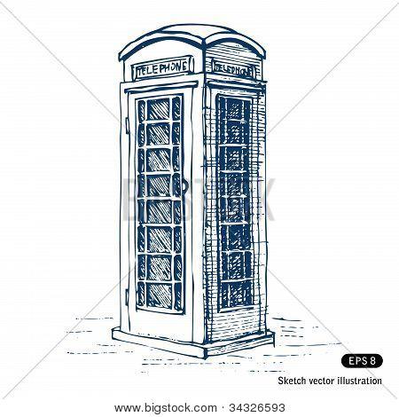 London pay phone