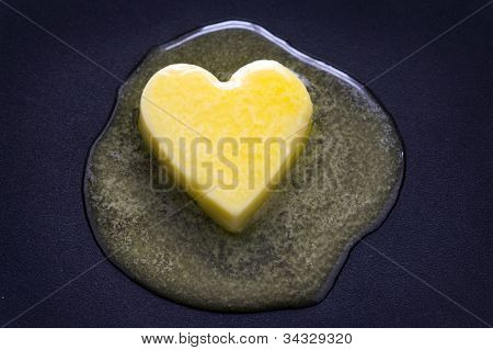 Butter Heart Melting