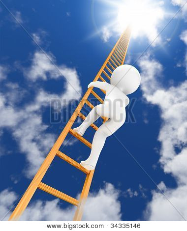 Ladder To Sky 3D
